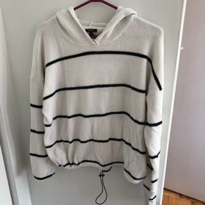 Buffalo David Bitton striped hoodie